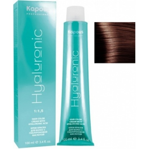 Kapous Professional Color Cream Hyaluronic 5.4